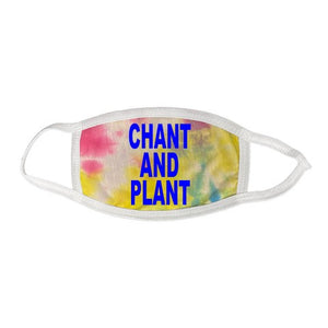 "Pure Virtue ""Chant and Plant"" mask in Tie Dye"
