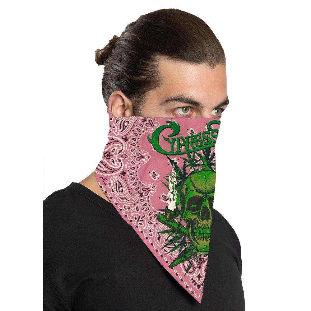 "Cypress Hill ""420"" Bandana in Pink"