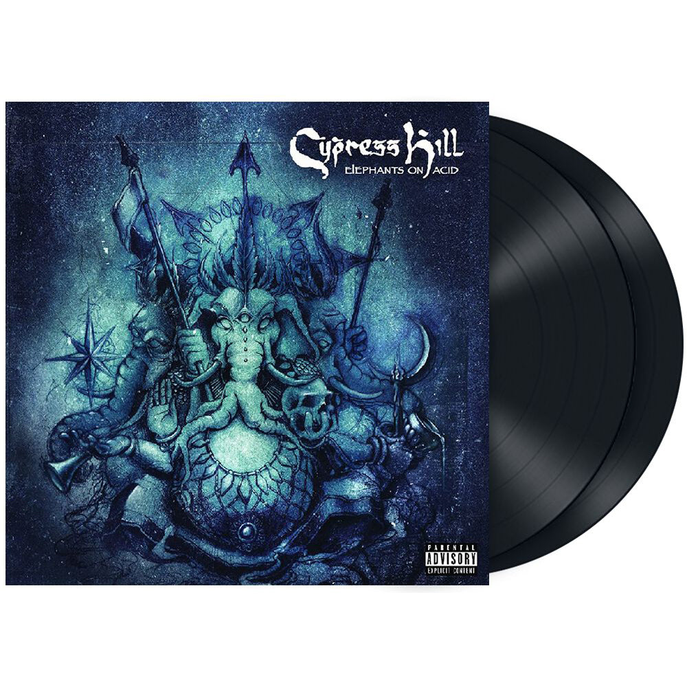 "Cypress Hill ""Elephants On Acid"" Vinyl"