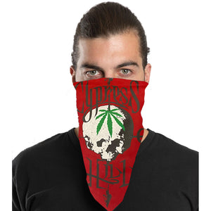 "Cypress Hill ""Pothead"" Bandana in Red"