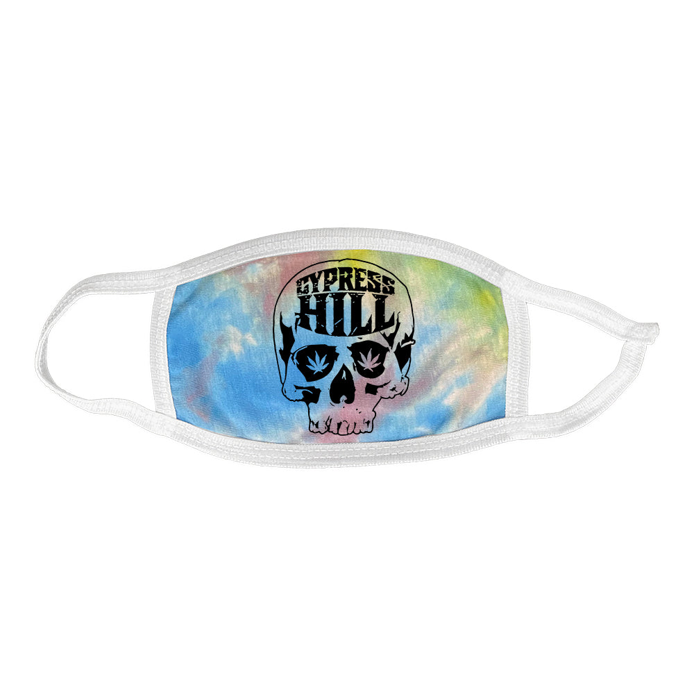 "Cypress Hill ""Skull Bone"" mask in Tie Dye"