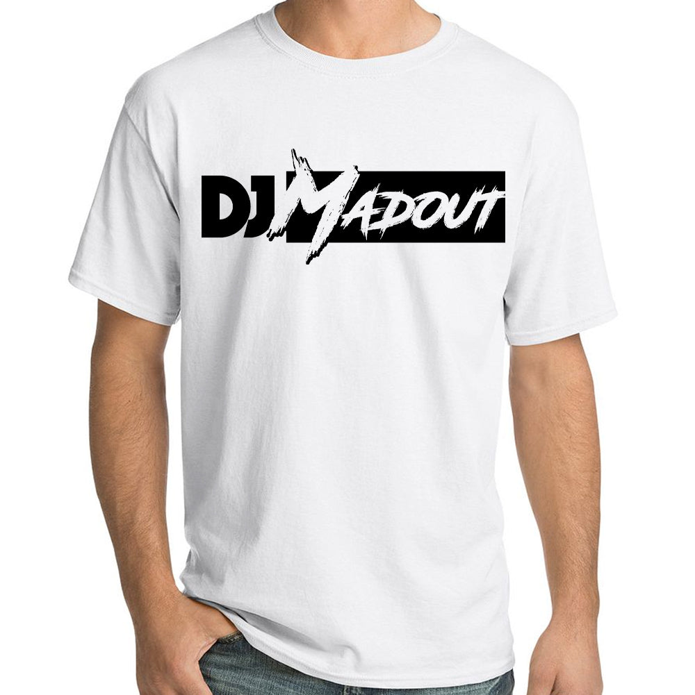 "DJ MADOUT ""Logo"" T-Shirt In White"
