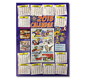 Down N' Outz  AUTOGRAPHED 2015 Poster Calendar in Purple
