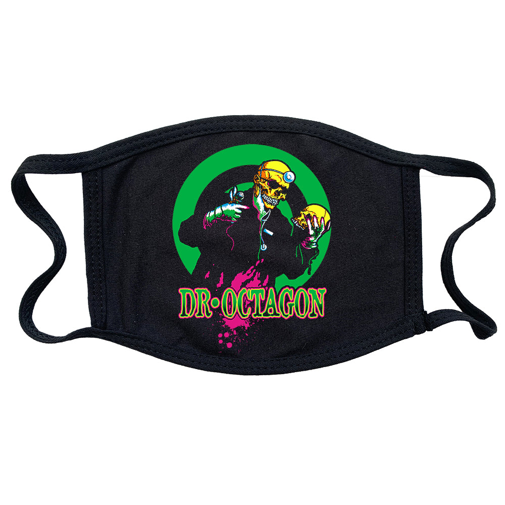 Dr Octagon With Skull Reusable and Washable Anti-Germ and Pollution Mask Cover