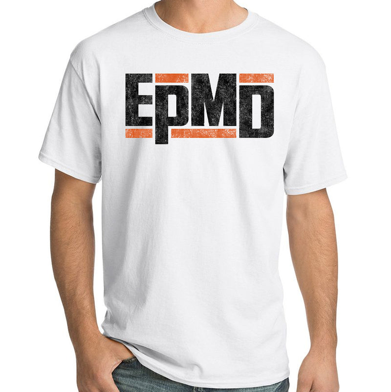 "EPMD ""Classic Logo"" T-Shirt in White"