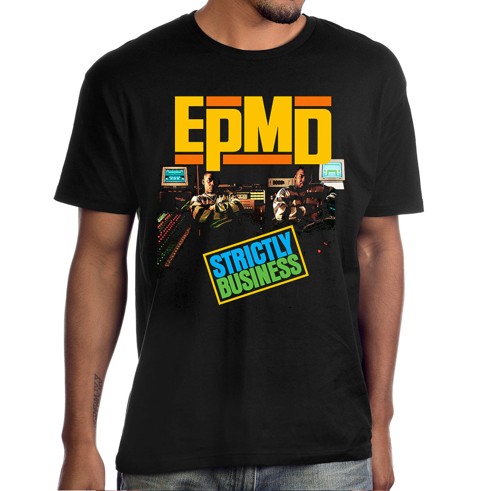 "EPMD ""Strictly Business"" Album Cover Photo T-Shirt"