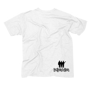 "Los Lonely Boys ""Flames"" T-Shirt in White"