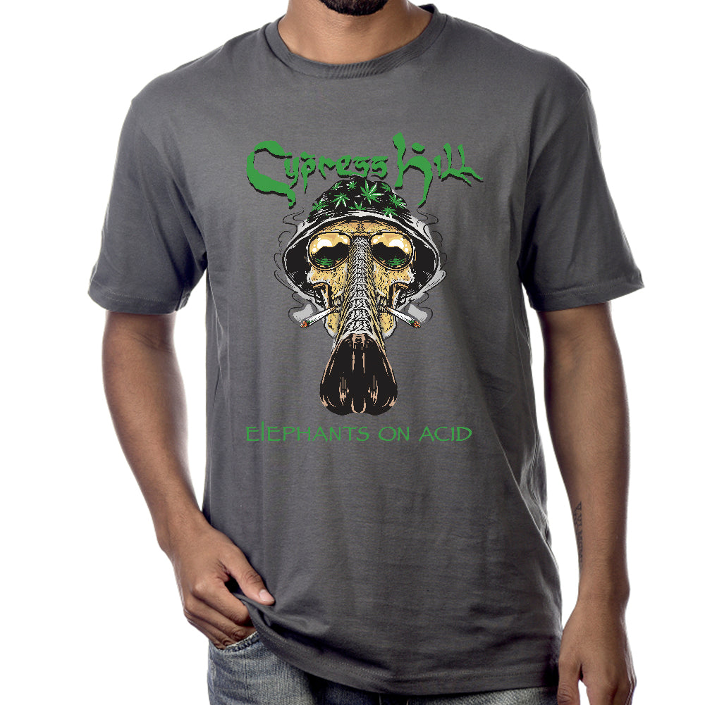 "Cypress Hill ""Fear and Loathing"" Charcoal Grey Short Sleeve T-Shirt"