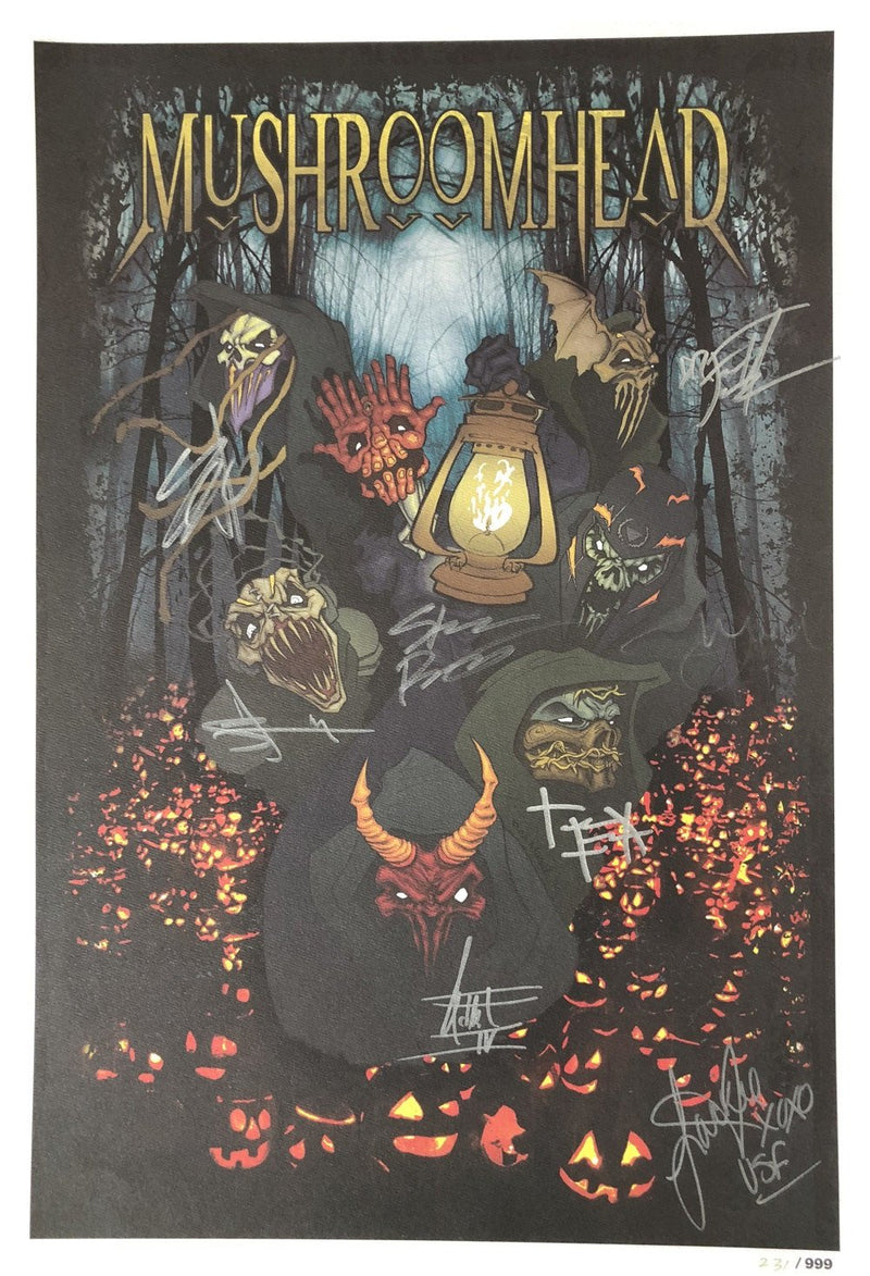 "Mushroomhead ""Musil Halloween"" LIMITED EDITION Signed Litho Poster"