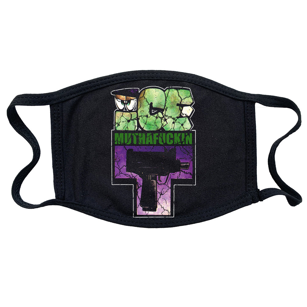 "Ice T ""Uzi"" Reusable and Washable Anti-Germ and Pollution Mask Cover"