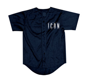 "Scarface ""Icon"" Logo Navy Blue Jersey"