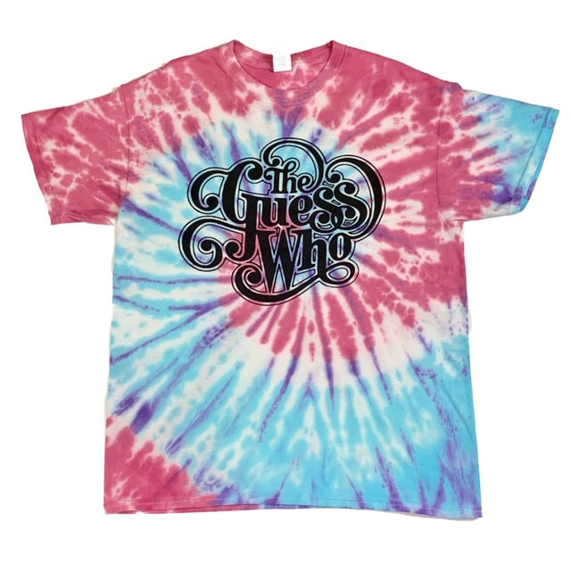 "The Guess Who ""Classic Logo"" Tye Dye T-Shirt 2"