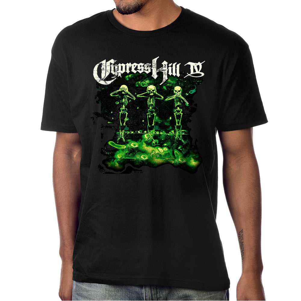 "Cypress Hill ""IV"" Album Cover T-shirt"