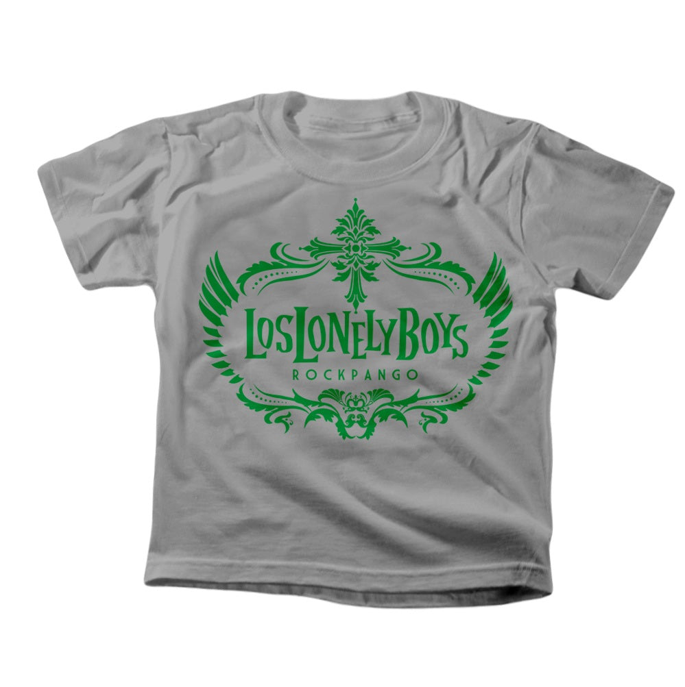 "Los Lonely Boys ""Rockpango Crest"" Kid's T-Shirt"