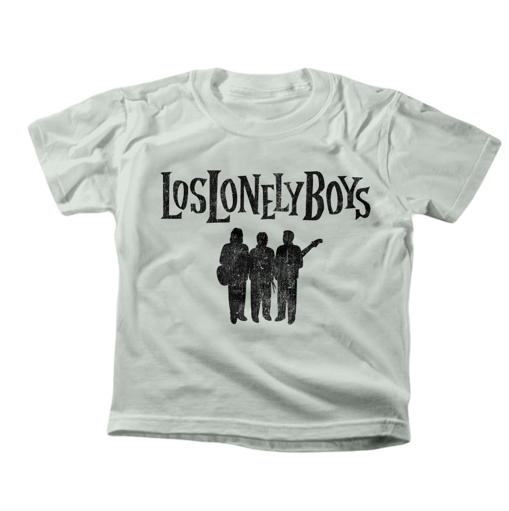 "Los Lonely Boys ""Silhouette"" Kid's Silver T-Shirt"
