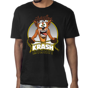 "Krash Minati ""Bandicoot"" T-Shirt in Black"