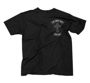 "Los Lonely Boys ""Por Vida"" Men's Black T- Shirt"