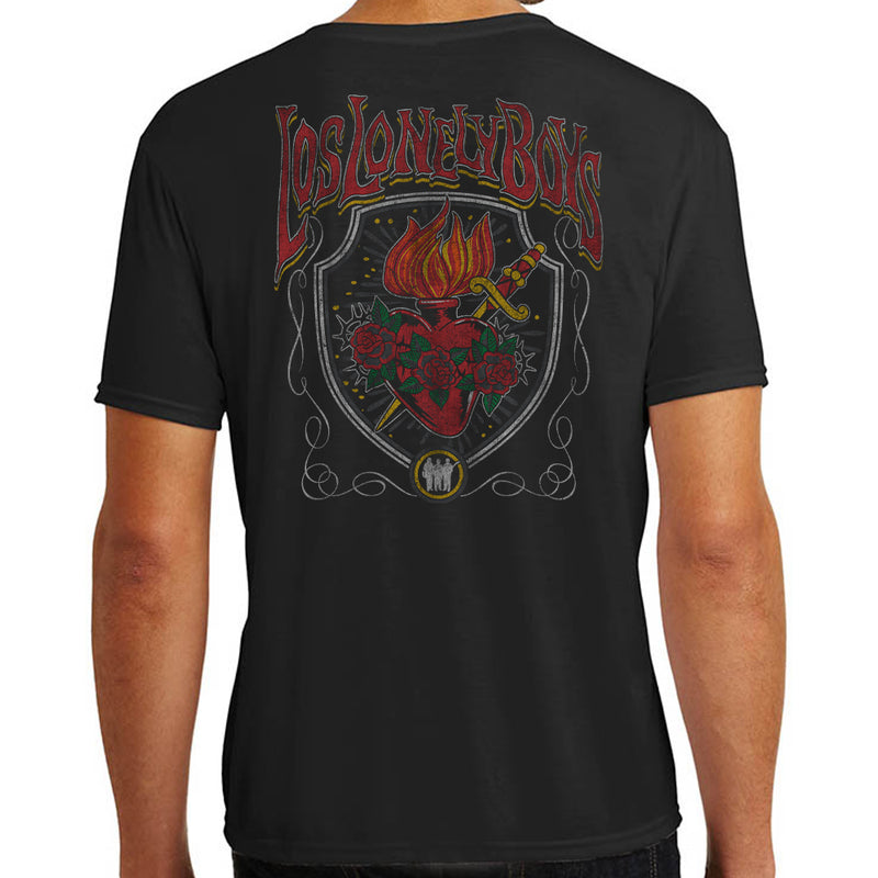 "Los Lonely Boys ""Revelation Heart"" T-Shirt"