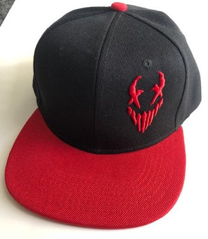 "Mushroomhead ""X-Face"" Snap Back Hat Black/Red"
