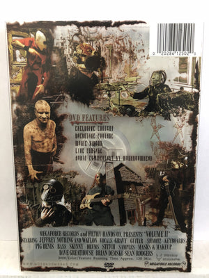 "Mushroomhead Volume 2 ""Filthy Hands/Megaforce"" Signed DVD"