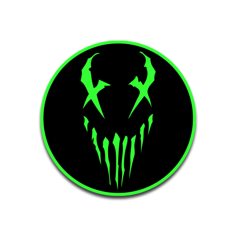 "Mushroomhead ""X Face"" Patch Green"