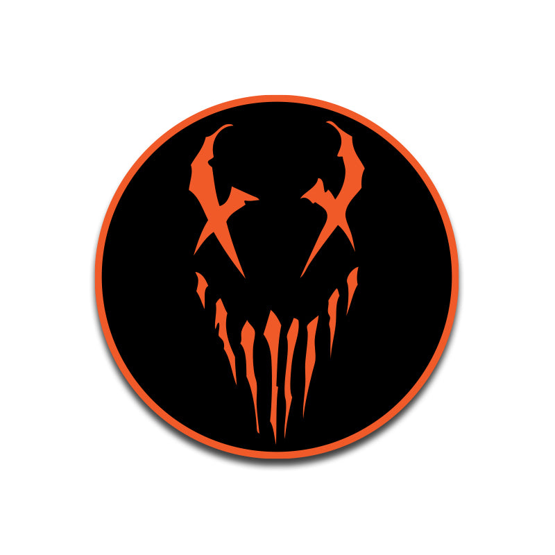 "Mushroomhead ""X Face"" Patch Orange"