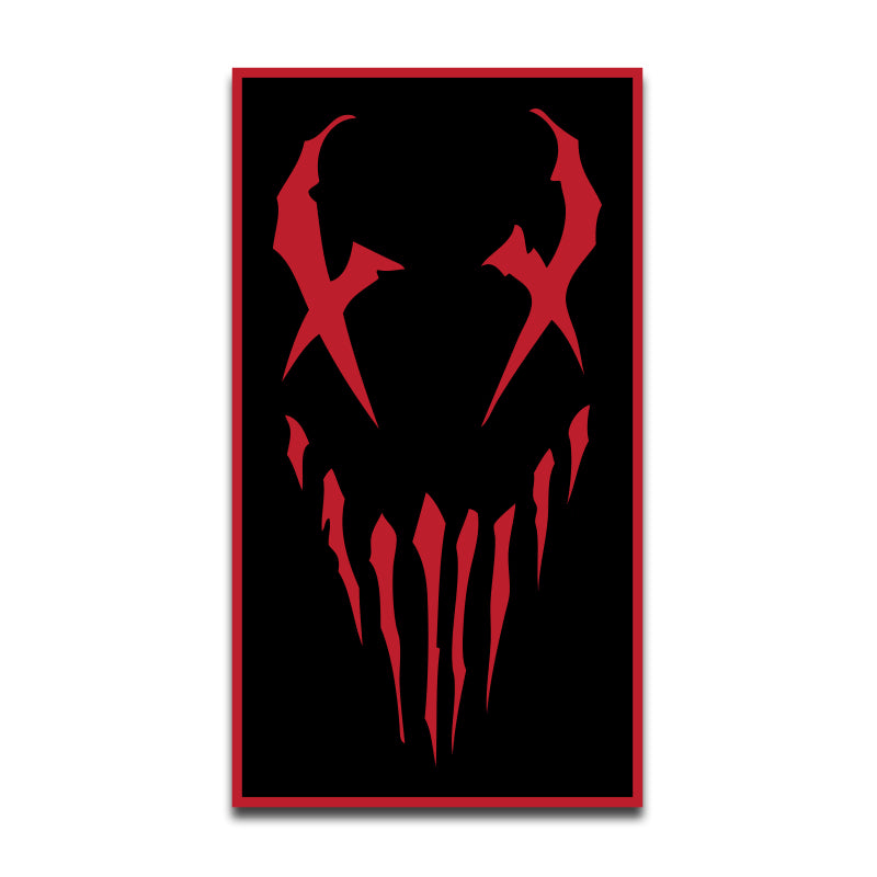 "Mushroomhead ""X Face"" Patch Rectangle"