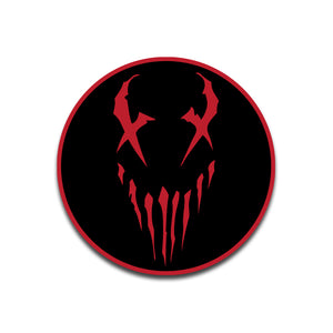 "Mushroomhead ""X Face"" Patch Red"
