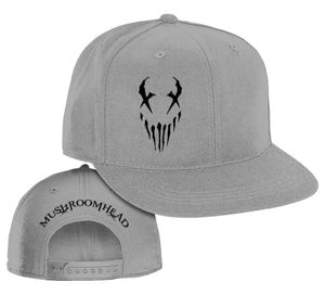 "Mushroomhead ""X-Face"" Snap Back Hat Grey/Black"
