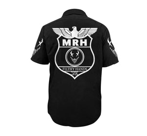"Mushroomhead ""War Machine"" Black Work Shirt"