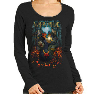 "Mushroomhead ""Musil Halloween"" Women's Long Sleeve Scoop Neck"