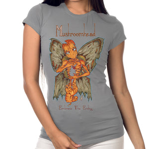 "Mushroomhead ""Butterfly Girl"" Gray T-Shirt"