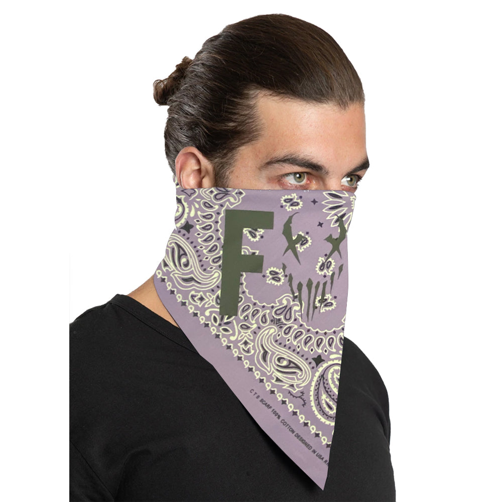 "Mushroomhead ""F*ck"" Bandana in Purple"