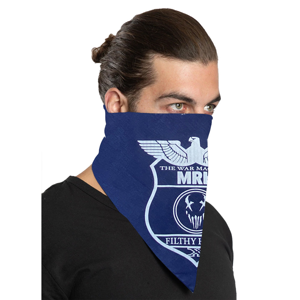 "Mushroomhead ""War Machine"" Bandana in Navy"
