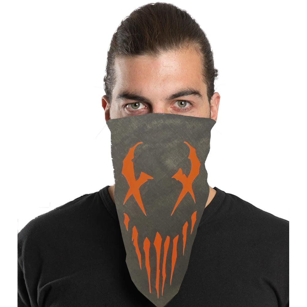 "Mushroomhead ""X-Face"" Bandana in Black"