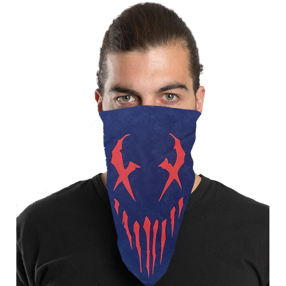 "Mushroomhead ""X-Face"" Bandana in Navy"