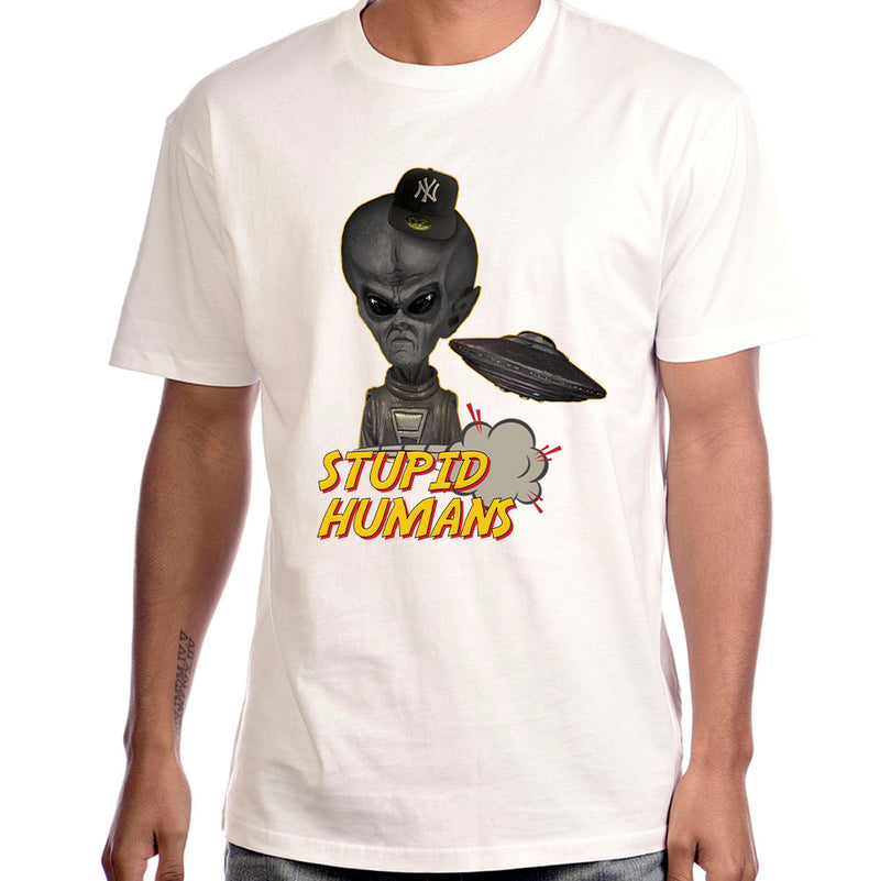 "Mr. X ""Stupid Humans"" T-Shirt"