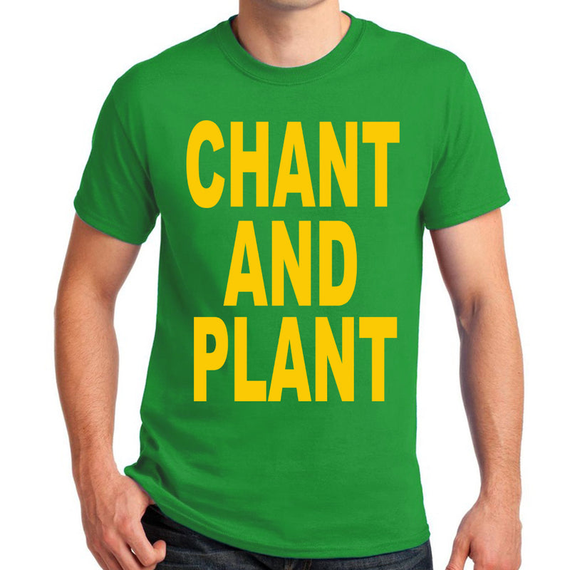 "Pure Virtue ""Chant And Plant"" T-Shirt in Green"