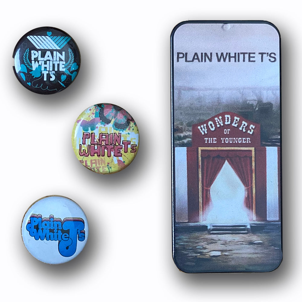 "Plain White T's ""Wonders Of The Younger"" Pick Pack And Pins"