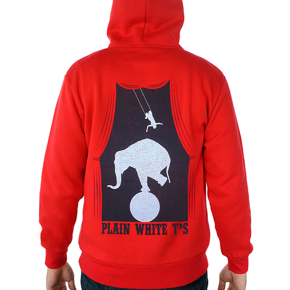 "Plain White T's ""Circus"" Pullover Hoodie"