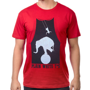 "Plain White T's ""Circus"" T-Shirt"