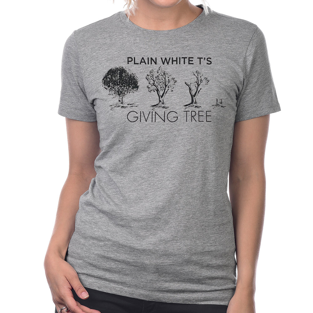 "Plain White T's ""Giving Tree"" Women's T-Shirt"