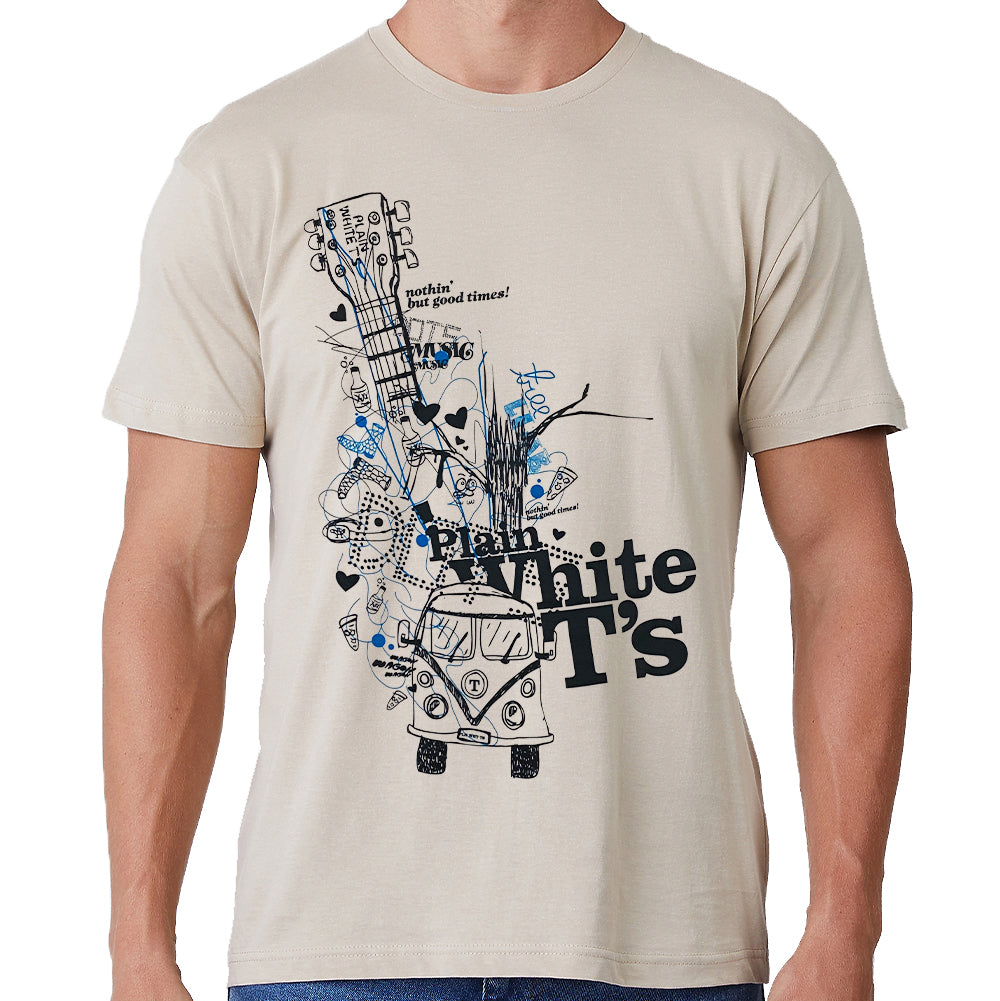 "Plain White T's ""Nothin But Good Times"" T-Shirt"