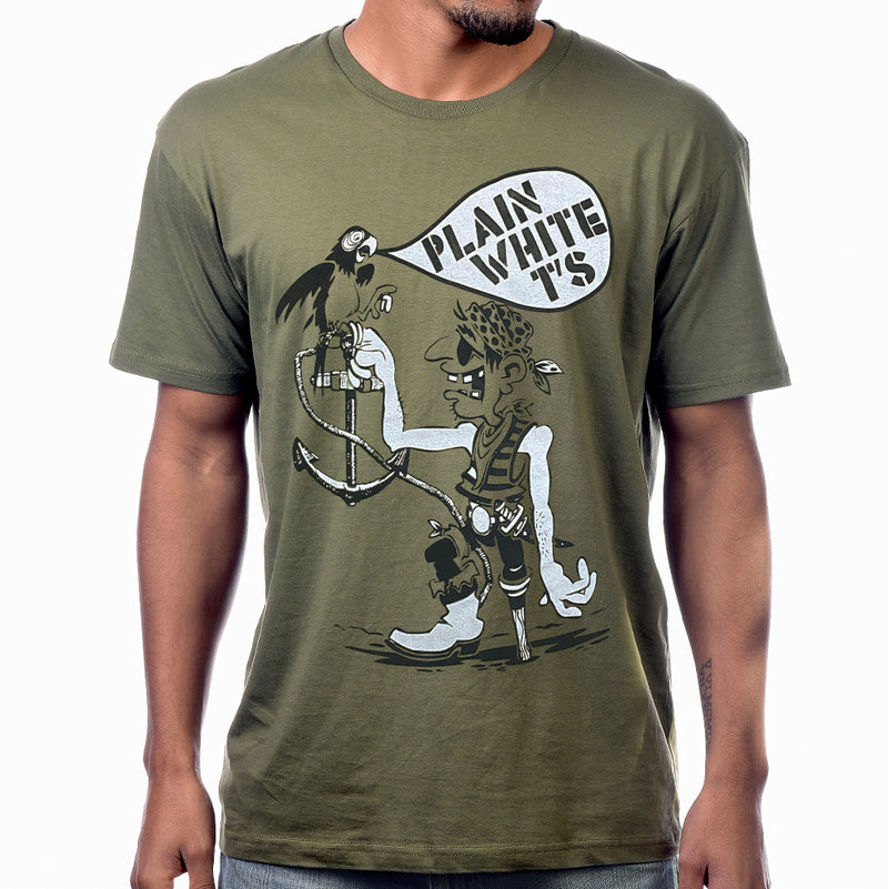 "Plain White T's ""Pirate"" T-Shirt"