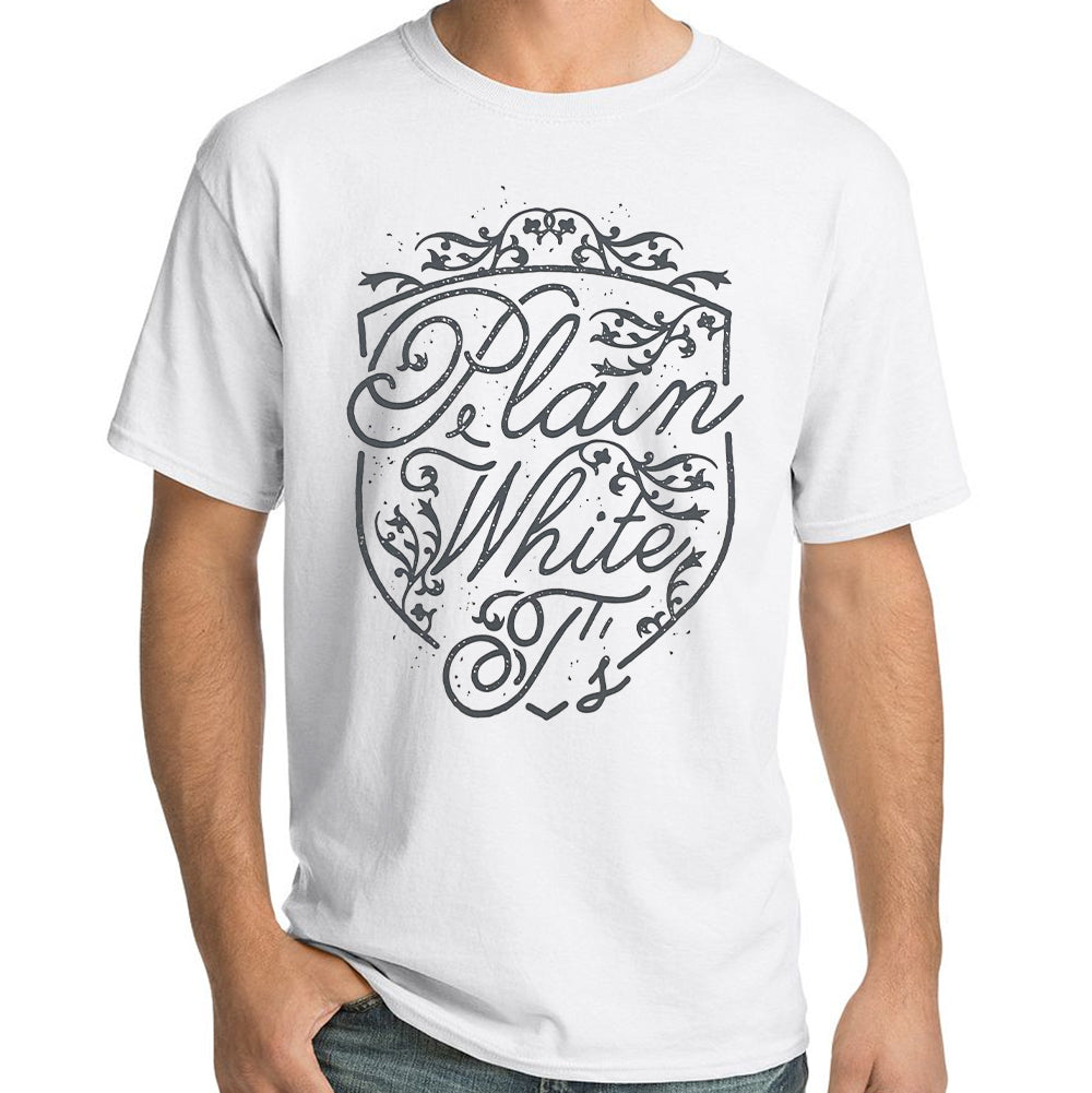 "Plain White T's ""Shield"" T-Shirt"