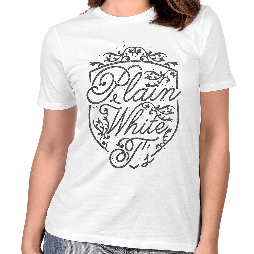 "Plain White T's ""Shield"" Women's T-Shirt"