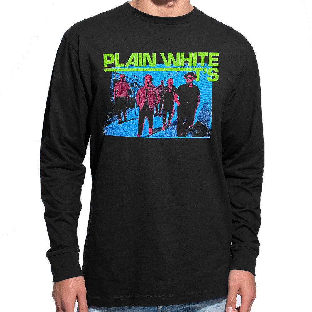 "Plain White T's ""Street"" Long Sleeve T-Shirt"