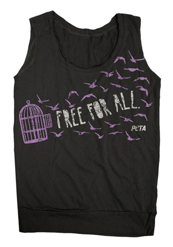 "PeTA ""Free For All"" Women's Vest"