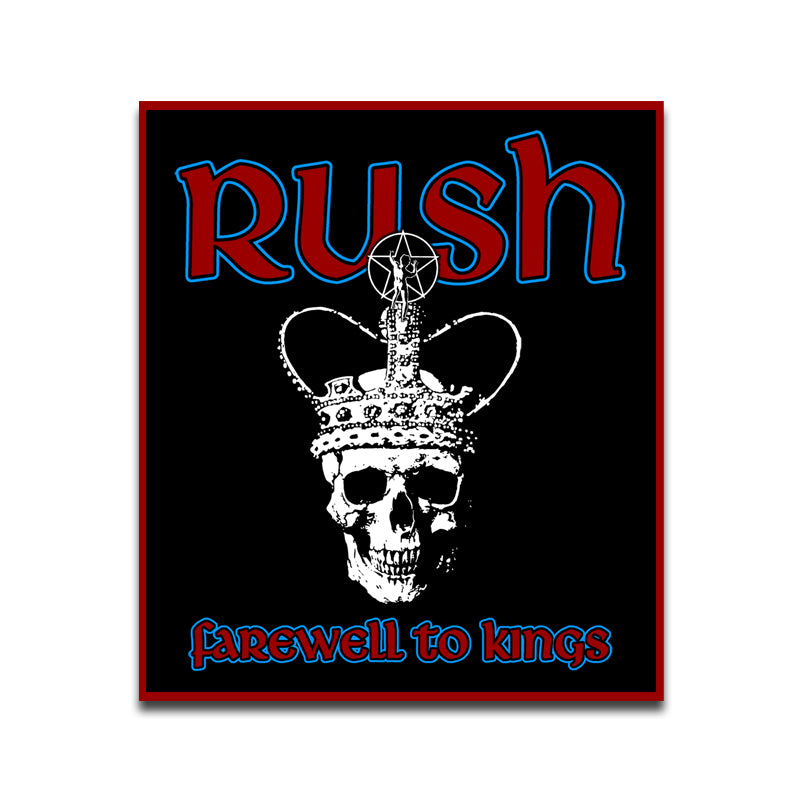 Rush Farewell To Kings Patch
