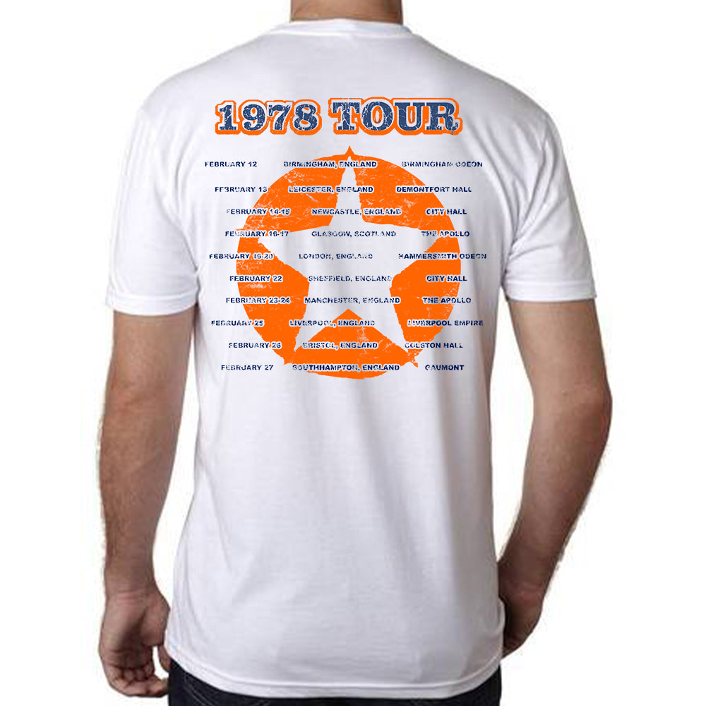 "Rush ""1978 Euro Tour"" T-Shirt"
